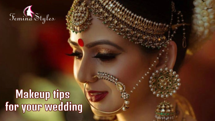 makeup for your wedding
